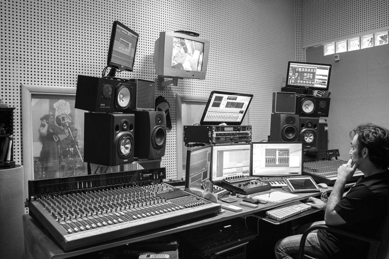 Piccola Sala Prove : Mastering.it audio labs: studio di registrazione e mastering sala